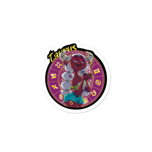 Zodiac Sign Taurus Sticker