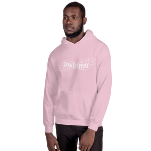 Draw Everyday Unisex Hoodie