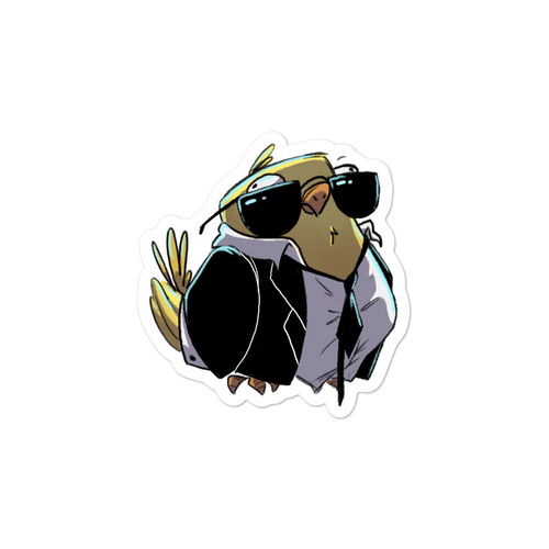Cute Bird Sticker