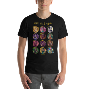 Zodiac Signs Short-Sleeve Unisex T-Shirt