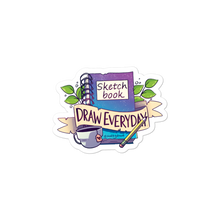 Load image into Gallery viewer, Sketchbook Draw Everyday Sticker