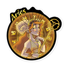 Load image into Gallery viewer, Zodiac Sign Aries Sticker