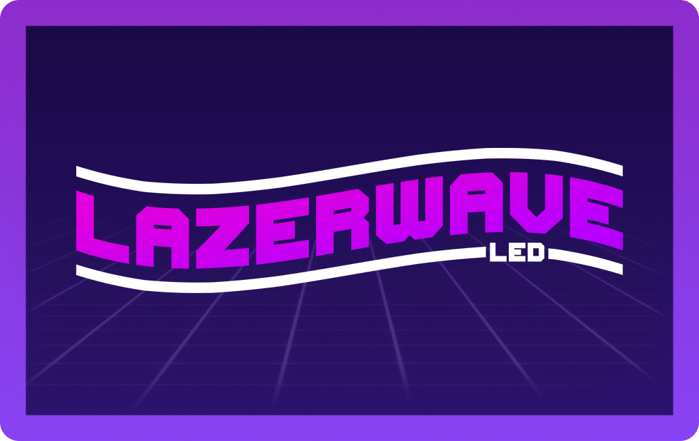Lazerwave LED Gift Card