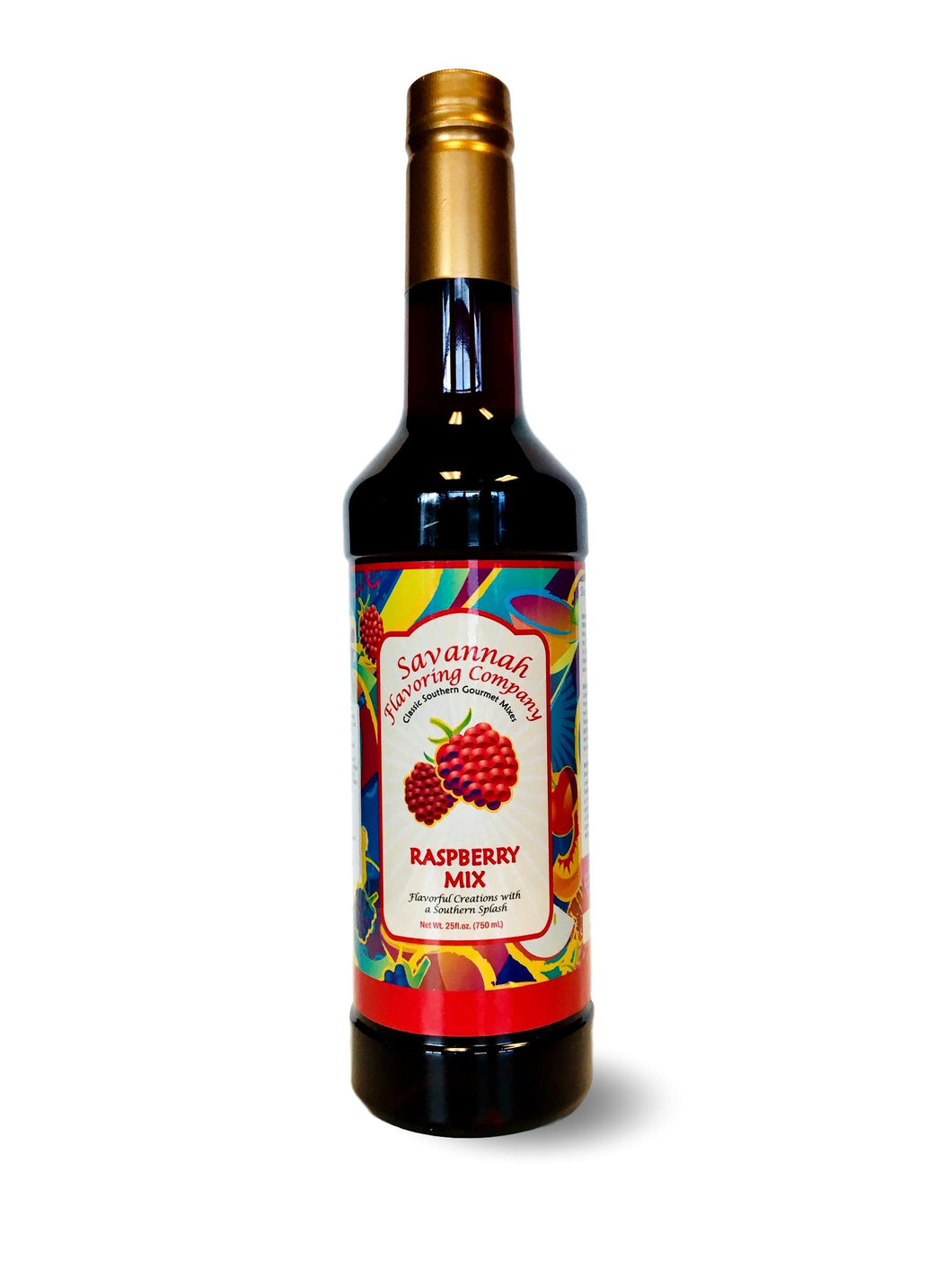 Savannah Flavoring Summer Raspberry Syrup Mix