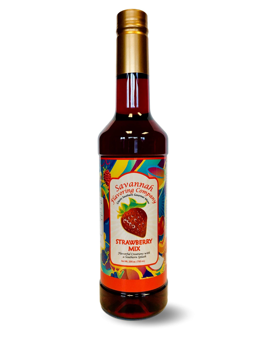 Savannah Flavoring Summer Strawberry Syrup Mix