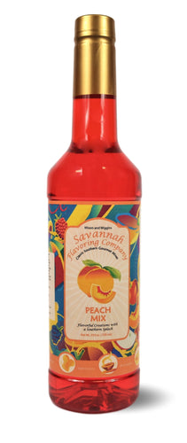 Savannah Flavoring - Southern Peach Syrup Mix