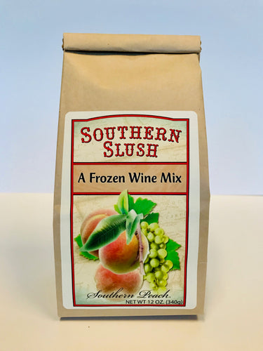Southern Slush Frozen Wine Mix Peach
