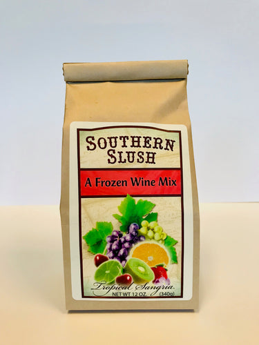 Southern Slush Tropical Sangria Fronzen Wine Mix Drink