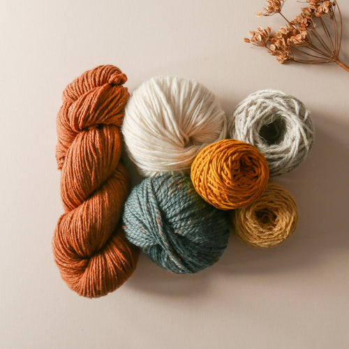 Cinnamon yarn pack