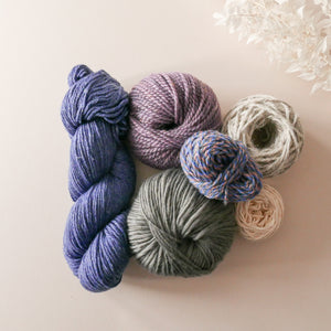 Lilacs yarn pack