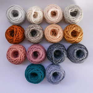Bumper collection of Whole Punching punch needle rug yarn