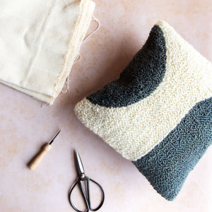 whole punching punch needle cushion kit