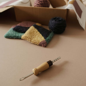 whole punching punch needle coaster kit