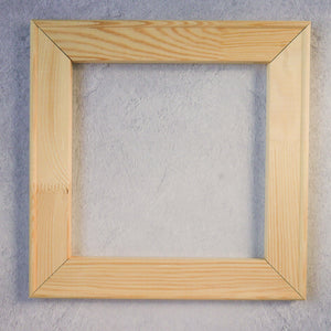 "12"" wooden frame for punch needle"