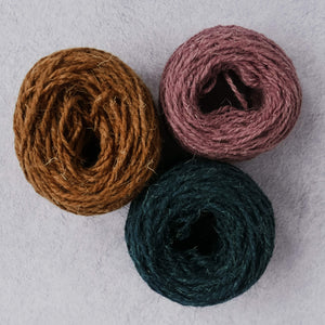 Aran weight run yarn