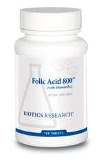 Folic Acid 800™ (with B12)
