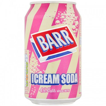 Barr Cream Soda 33cl - Gelicious