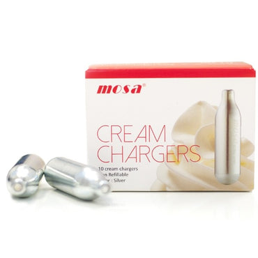 Mosa Cream Charger 50-pack 8g - Gelicious
