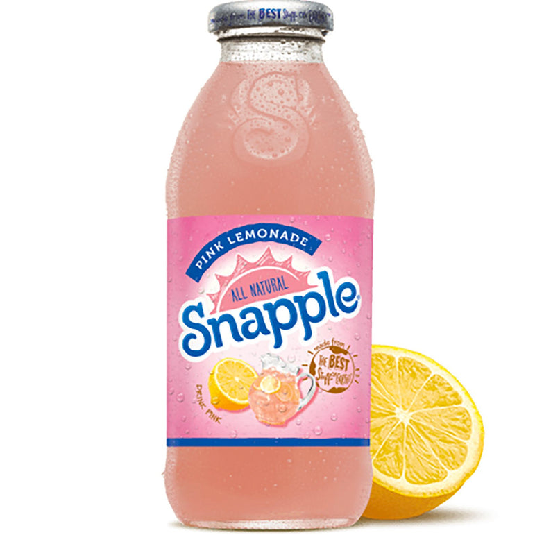 Snapple Pink Lemonade 473ml - Gelicious