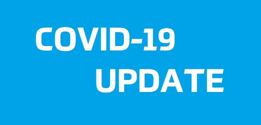 COVID 19 Update - We are Open - With some restrictions