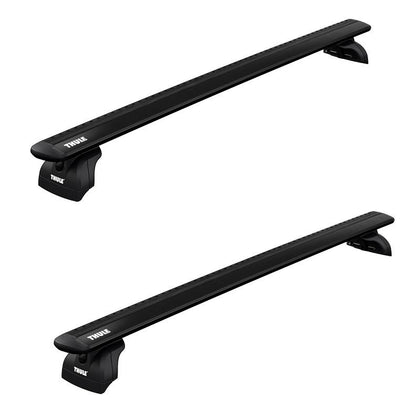 Thule Wing Bar Evo Roof Rack for Flush Rails, Fixed Points and Tracks