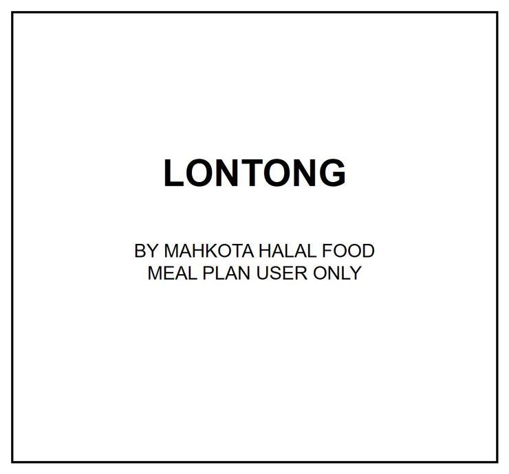Wed, Oct 9 - Lontong - Living Menu