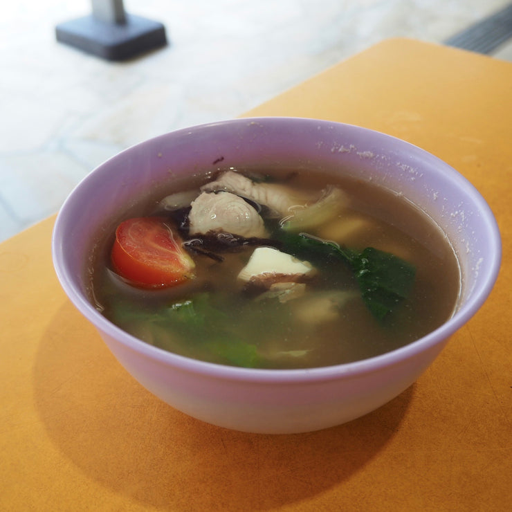Wed, Oct 9 - Sliced Fish Soup + Rice - Living Menu