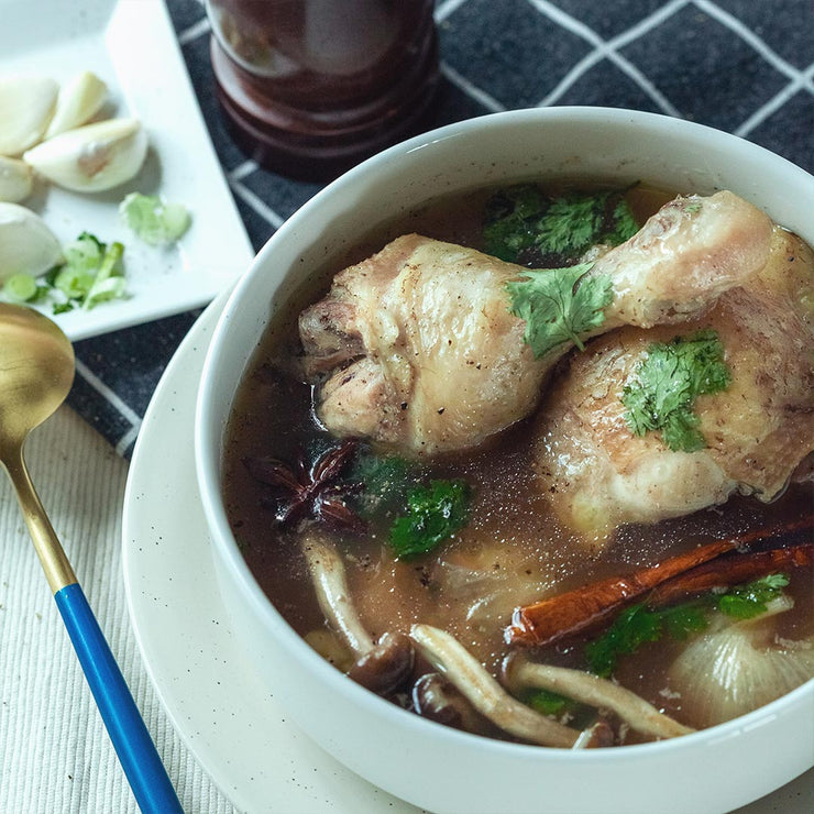 "Wed, May 13 - ""Bak Kut Teh"" Chicken With Rice And Vegetable - Living Menu"