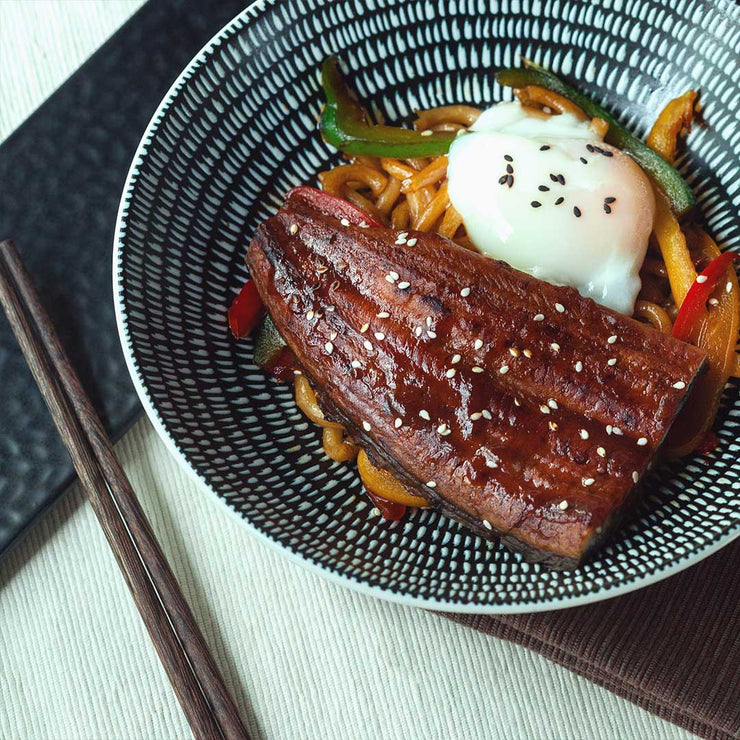 Thu, Oct 3 - Unagi With Stir Fried Udon And Onsen Egg - Living Menu