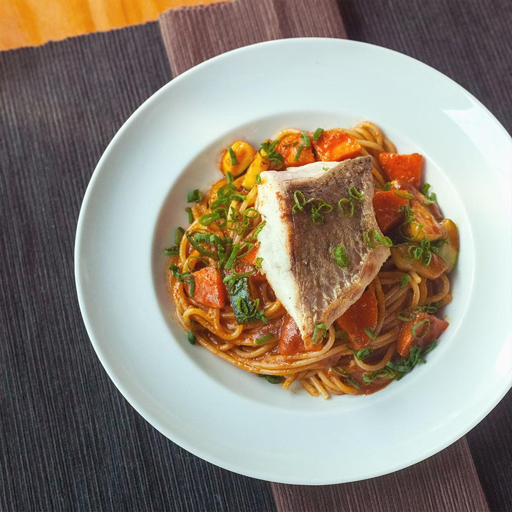 Fri, Sep 20 - Masak Merah Pasta With Pan Seared Barramundi