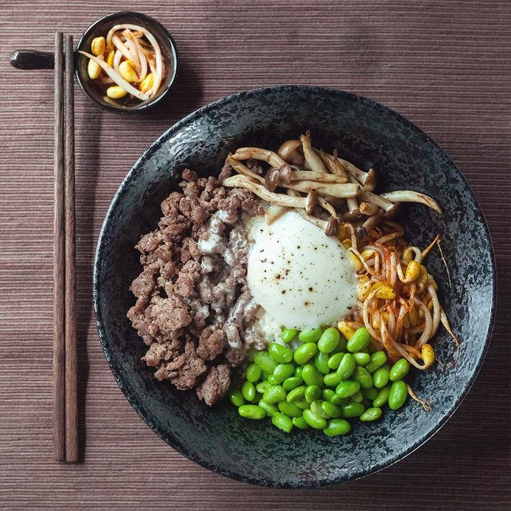 Tue, Dec 10 - Truffle Bibimbap Beef Bowl With Onsen Egg - Living Menu