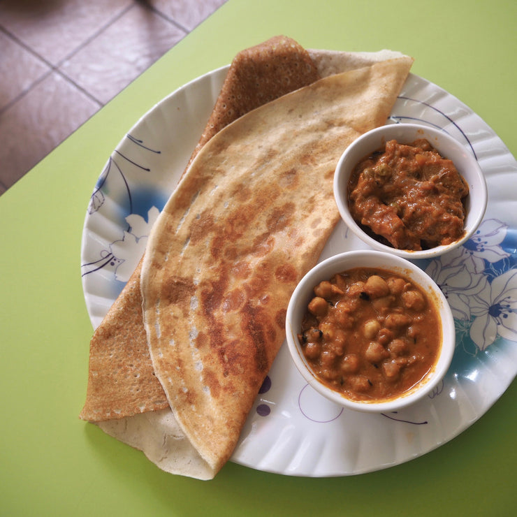 Fri, Apr 10 - Vegetarian Dosa Set - Living Menu