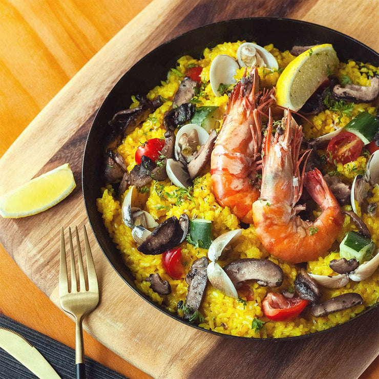 Fri, Jan 3 - Seafood Paella - Living Menu