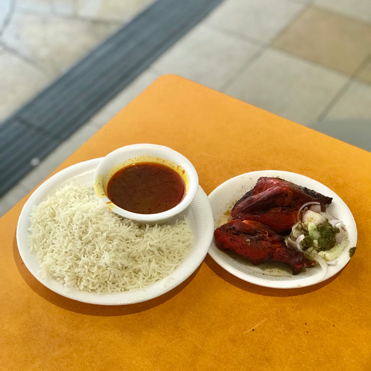 Wed, Feb 19 - Tandoori Chicken + Rice - Living Menu