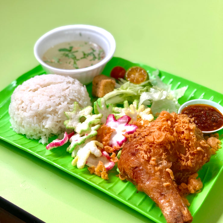 Tue, Feb 18 - Nasi Ayam Penyet - Living Menu