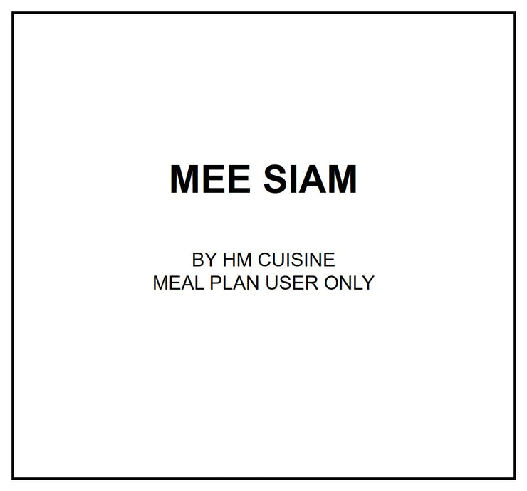 Wed, July 31 - Mee Siam