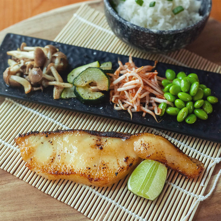 Fri, Sep 6 - Miso Glazed Black Cod Set with Koshihikari Rice*
