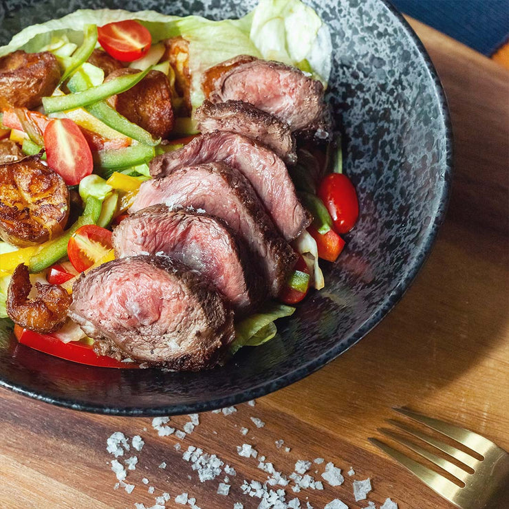 Wed, Aug 7 - Sirloin Steak Salad with Ponzu dressing - Living Menu
