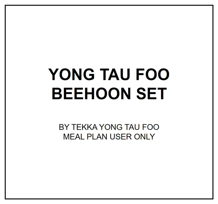 Fri, Sep 6 - Yong Tau Foo - Living Menu