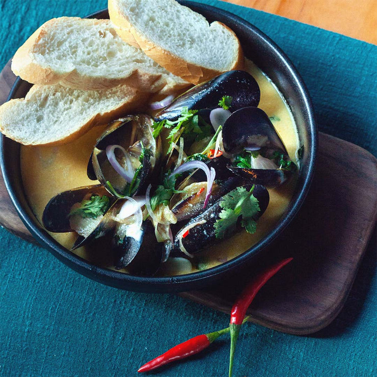 Thu, Oct 24 - Mussel Stew With Toast - Living Menu