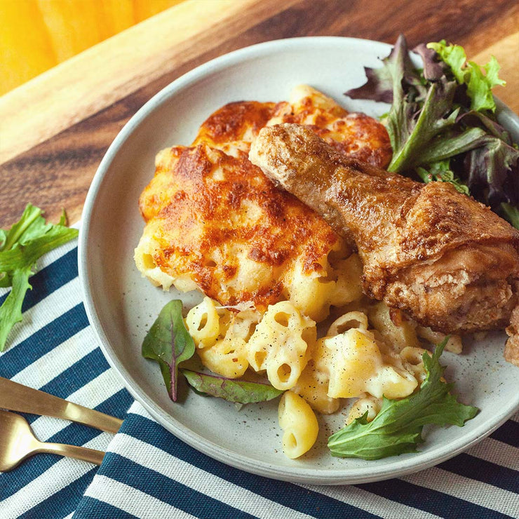 Fri, Oct 4 - Fried Chicken Mac And Cheese