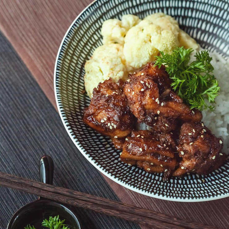 Thu, Nov 21 - Braised Cola Chicken With Rice And Cauliflower - Living Menu