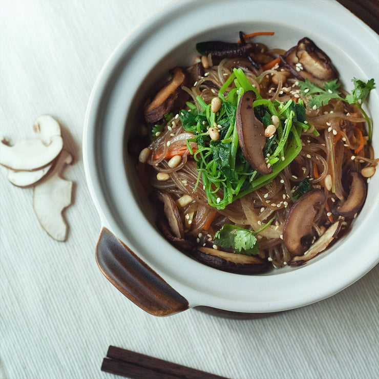 Tue, Jun 2 - Vegetarian Japchae With Sesame Spinach (Vegan)