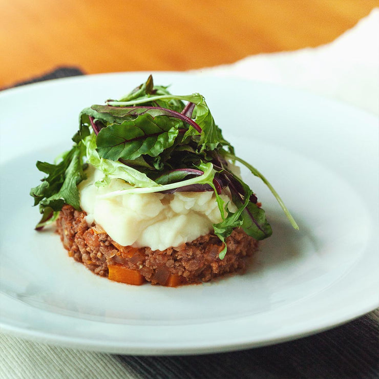 Tue, Oct 1 - Shepherds Pie With Mesclun Salad - Living Menu