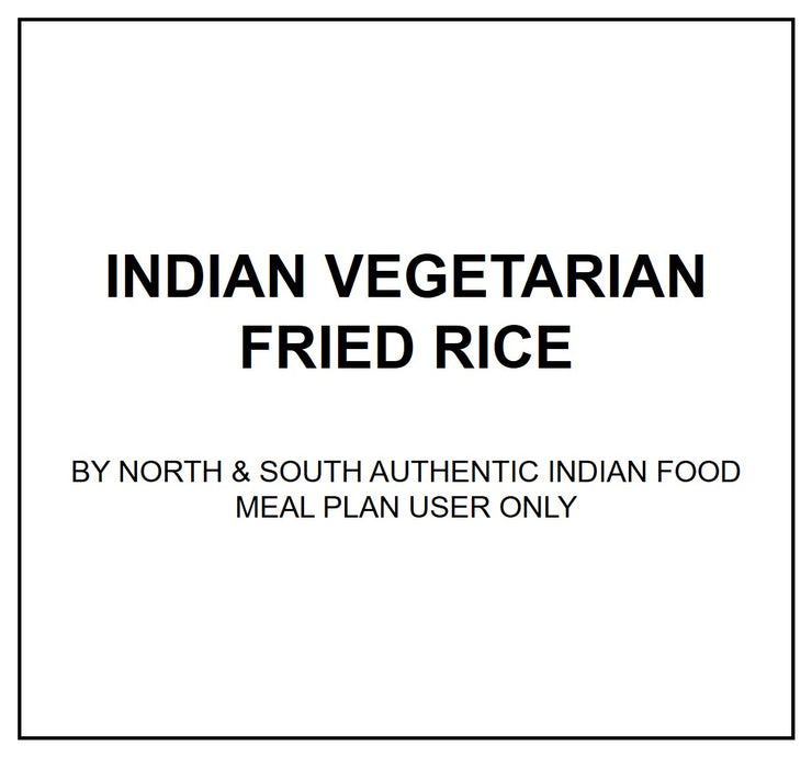 Fri, Dec 13 - Vegetarian Fried Rice - Living Menu