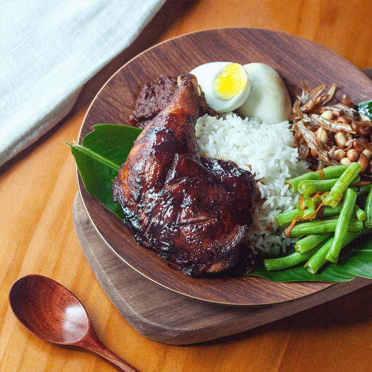 Fri, Nov 1 - Ayam Bakar Nasi Lemak - Living Menu