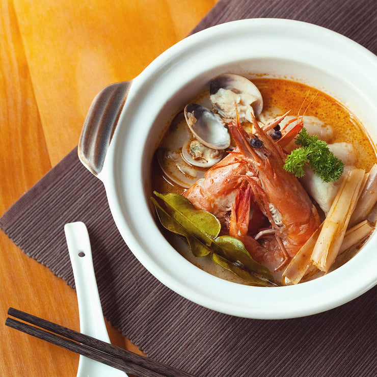 Mon, Dec 30 - Tom Yum Seafood Noodle Soup - Living Menu