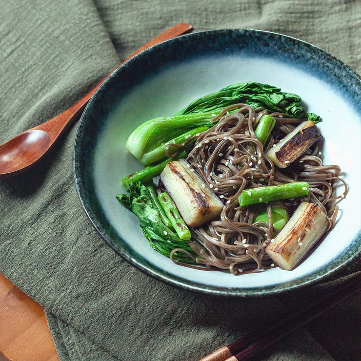 Tue, Oct 29 - Miso Glazed Eggplant With Soba  (Vegan) - Living Menu