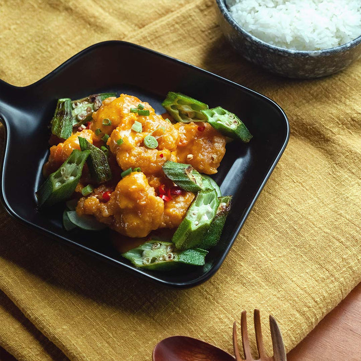 Tue, Feb 18 - Golden Shrimp With Vegetable