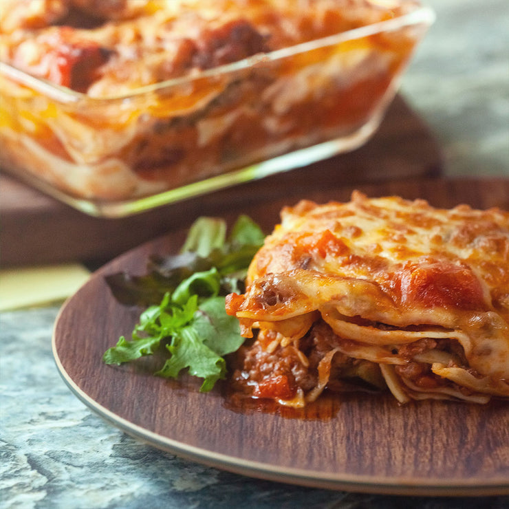 Mon, Jun 15 - Beef Lasagne Served With Mesclun Salad